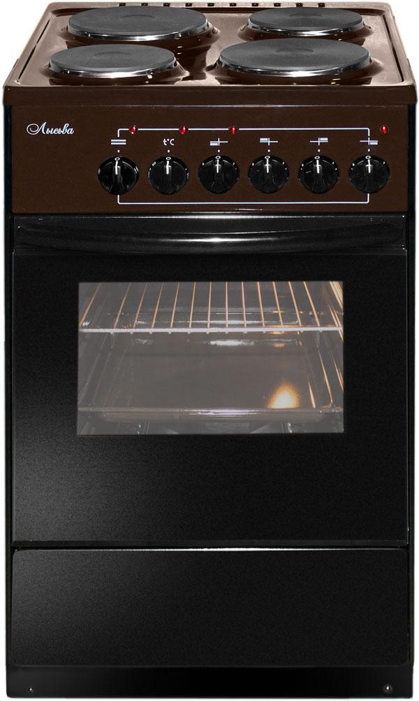 Лысьва ЭП 403 плита электрическая, цвет коричневый (без крышки)ls00382Плита электрическая, коричневая, без крышки