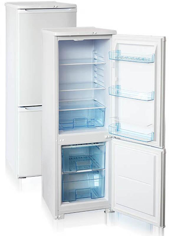 Бирюса 118 холодильникБ-118Двухкамерный холодильник, общий объем 180л, объем х/к 145л, объем м/к 35л, тип упр-я механический, кол-во компрессоров - 1, класс энергоэффективности А, ручная разморозка морозильной камеры, 145,0 х 48 х 60,5 (ВхШхГ), цвет: белый