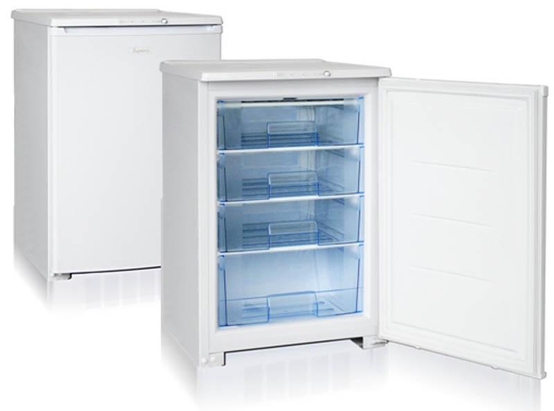 Бирюса 14 морозильникБ-14Морозильная камера, общий объем 110л, тип упр-я механический, кол-во компрессоров - 1, класс энергоэффективности А, 85 х 58 х 62,5 (ВхШхГ), цвет: белый