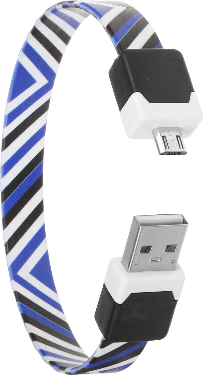 DVTech CB135 Black Blue, кабель microUSB/USB (0,25 м)DVTech CB135 multicolor_синий, черныйКабель DVTech CB135 предназначен для зарядки портативных устройств с разъемом micro-USB от стандартного USB порта и обмена данными между устройствами. Кабель выполнен из высококачественных материалов, в корпусах разъемов размещены магнитные вставки, благодаря чему его можно носить как браслет на запястье.