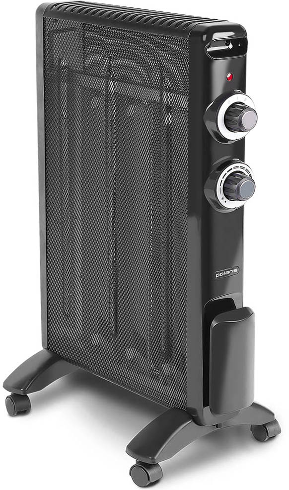 Polaris PMH 1584 микатермический обогреватель008665Обогреватель Polaris PMH 1584 оснащен микатермическим нагревательным элементом. Он обеспечивает высокую эффективность обогрева, которая в несколько раз выше по сравнению с другими тепловыми приборами. Конструкцией предусмотрено 2 типа обогрева: конвекционный и тепловолновой. Обогреватель обеспечивает быстрый прогрев помещения после включения, не сжигает кислород и не сушит воздух и экономит электроэнергию. Polaris PCH 1584 обладает высокой надежностью и безопасностью использования: при опрокидывании или перегреве устройство автоматически отключается, предотвращая возможное возгорание.