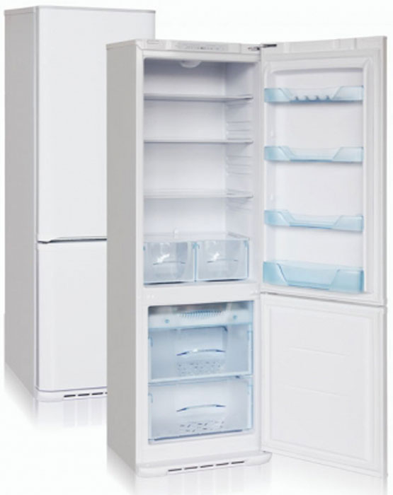 Бирюса M144SN холодильникБ-M144SNДвухкамерный холодильник, общий объем 325л, объем х/к 245л, объем м/к 80л, тип упр-я электронный, кол-во компрессоров - 1, класс энергоэффективности В, No Frost, 190 х 60 х 62,5 (ВхШхГ), цвет: металлик