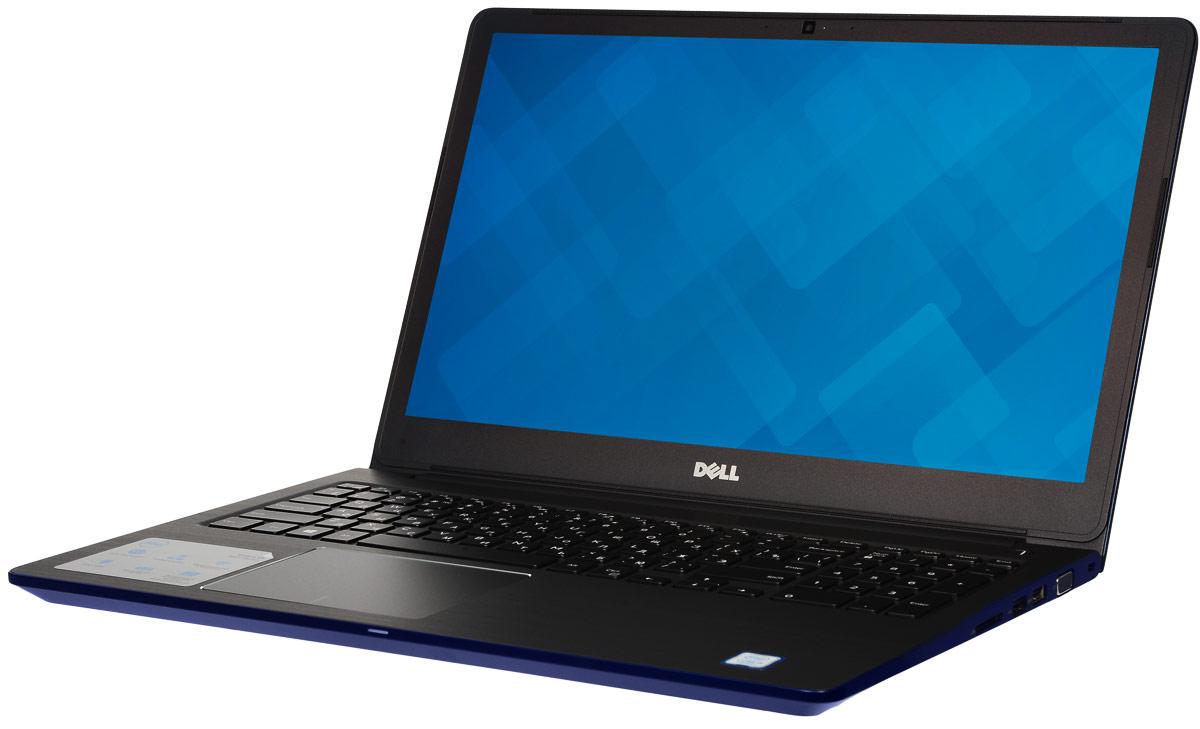 Dell Vostro 5568-1151, Blue5568-115115-дюймовый ноутбук Dell Vostro 5568, рассчитанный на производительность в типичном малом бизнесе, оснащенный клавиатурой с подсветкой, цифровой клавиатурой и функциями безопасности. Устройство имеет улучшенную легкую конструкцию и стильный внешний вид.Простота расширения: конфигурация с двумя накопителями, жестким диском и твердотельным диском, а также двумя разъемами для модулей SoDIMM DDR4 означает, что вашу систему можно будет модернизировать по мере необходимости.Превосходная графика: переключайтесь между задачами без задержки или используйте графически активные приложения благодаря выделенному графическому адаптеру NVIDIA GeForce 940MX с объемом видеопамяти 4 Гбайта.Превосходное изображение, четкий звук: яркий антибликовый дисплей с разрешением HD выдает впечатляющую картинку. Встроенная веб-камера с разрешением HD и программное обеспечение Waves MaxxAudio Pro позволяютпри удаленной работе слышать друг друга исключительно четко.Дополнительное удобство: точная сенсорная панель, цифровая клавиатура и дополнительная клавиатура с подсветкой делают работу более удобной.Надежная связь. Благодаря широкому набору портов, включая USB 3.0 и 2.0, HDMI, VGA и Gigabit Ethernet, а также считывателю карт памяти SD подключение никогда не будет проблемой.Защитите свой малый бизнес: аппаратный модуль TPM 2.0 обеспечивает аппаратную защиту коммерческого класса, а также хранит ключи шифрования, позволяющие идентифицировать ваше устройство.Точные характеристики зависят от модификации.Ноутбук сертифицирован EAC и имеет русифицированную клавиатуру и Руководство пользователя.
