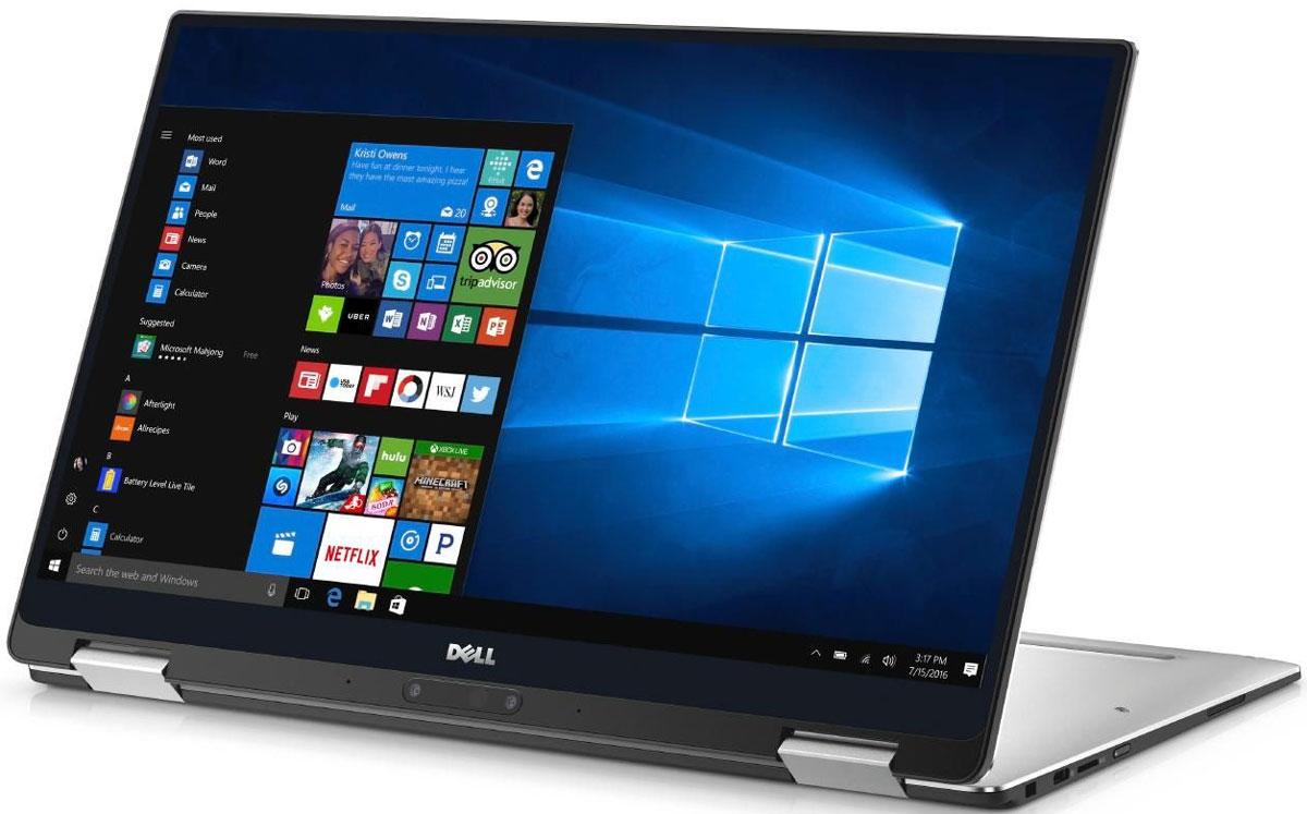 Dell XPS 13 2-in-1 9365-0949, Silver9365-0949Самый компактный 13-дюймовый ноутбук Dell XPS 13 два в одном с дисплеем InfinityEdge для практически безграничных возможностей просмотра и превосходной детализации за счет использования опциональной технологии UltraSharp QHD+.Впервые в истории ноутбук два в одном оборудован революционным дисплеем InfinityEdge; теперь можно наслаждаться изображением на практически безрамочном дисплее самого компактного в мире 13-дюймового ноутбука два в одном. Наслаждайтесь потрясающим изображением с разрешением UltraSharp QHD+ и различайте мельчайшие детали благодаря 5,7 млн пикселей. Цвета буквально оживают благодаря охвату цветовой гаммы 72%, а яркость 400 нит обеспечивает превосходные ощущения даже при работе на улице.Все видят, никто не слышит. Изящный и тонкий корпус с бесшумной конструкцией позволяет избежать чрезмерного нагревания и шума, поэтому никто на конференции или в кафе не услышит, как вы работаете на компьютере. Окружающие будут обращать внимание на стильное решение, а не на посторонние звуки.Элегантность под любым углом. Крепление премиум-класса позволяет поворачивать ноутбук XPS 13 два в одном на 360 градусов с возможностью установки в четырех регулируемых положениях, благодаря чему вы можете работать, просматривать видео или интернет-страницы в режиме планшета, презентации, ноутбука или консоли.Увеличенное время работы без подзарядки. Длительность работы от аккумулятора зависит от интенсивности использования ноутбука два в одном. При работе с офисными приложениями, например Word или Excel, время работы без подзарядки достигает 15 часов, при просмотре потокового видео - 10 часов.Удобство совместного использования. Четкое изображение при просмотре под любым углом благодаря технологии изготовления панели IPS IGZO, обеспечивающей широкий угол обзора до 170°. Сенсорный дисплей позволяет с легкостью касаться элементов, листать страницы и изменять масштаб. Поразительная производительность и скорость отклика. Процессор Intel Co