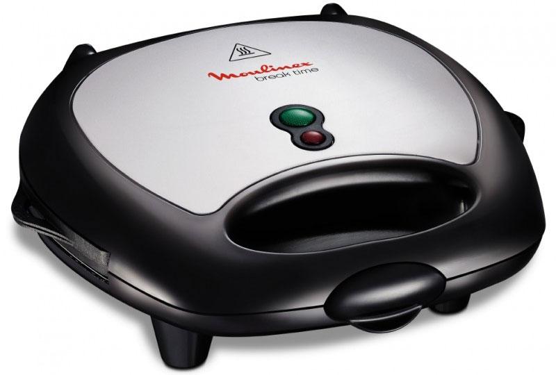 Moulinex SW611812 сэндвичницаSW611812С сэндвичницей Moulinex SW611812 вы легко приготовите самые разнообразные блюда! Вкусные сэндвичи, вафли, панини и даже мясо на гриле теперь приготовить просто благодаря трем комплектам сменных панелей. Сэндвичницу легко и удобно чистить и хранить – все съемные части можно мыть в посудомоечной машине, а само устройство можно ставить вертикально. В комплект входят 3 комплекта сменных панелей для быстрого и удобного приготовления самых разных блюд в любое время.