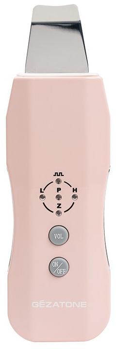 Gezatone Bio Sonic U7 Прибор ультразвуковой1301190Возможности устройства:Прибор сочетает в себе 5 функций для максимального эффективного ухода:УЗ пилинг –деликатно удаляет мертвые клетки, избыток себума и загрязнения, смягчает кожу и облегчает клеточное дыхание.Дезинкрустация – глубокое очищение: под действием гальванического тока и специальных лосьонов поры раскрываются, растворяются комедоны, удаляются ороговевшие клетки.УЗ микромассаж – ускоряет клеточный метаболизм и микроциркуляцию, уменьшает глубину морщинок.Фонофорез – облегчает проникновение активных веществ в кожу, усиливает и продлевает действие косметических препаратов.Ионофорез – процедура повышает проницаемость кожи для «заряженной» профессиональных средств, запускает процессы естественного увлажнения. Как ухаживать за кожей с помощью устройства Био Соник U7 «Жезатон»Очищение кожи - УЗ-пилингНанесите на чистую кожу лица специальный гель для УЗ-процедур.Выберите нужный режим: (_П_П_ , Н или L).Последовательно пройдитесь по кожей лопаточкой против массажных линий: от висков к середине лба, от середины ушной раковины к кончику носа и от мочек уха к уголкам губ. Держите лопаточку под углом 45 градусов, не надавливайте на кожу: лопатка должна плавно скользить по гелю.Очистите кожу от остатков косметики и нанесите маску по типу кожи.Микромассаж и фонофорезНанесите на чистую кожу сыворотку по типу кожи и проводящий гель для УЗ процедур.Выберите подходящий режим работы (_П_П_ , Н или L).Приложите лопаточку плоской стороной к коже и пройдитесь и пройдитесь ею последовательно по массажным линиям.Удалите остатки косметики и нанесите маску по типу кожи.Очищение кожи – ДезинкрустацияНанесите на чистую кожу лица специальный раствор для дезинкрустации.Выберите режим Z и зажмите пальцами металлические электроды по краям прибора.Последовательно пройдитесь по коже лопаточкой в направлении против массажных линий: от висков к середине лба, от середины ушной раковины у кончику носа и от мочек уха к уголкам губ. Держите лопа