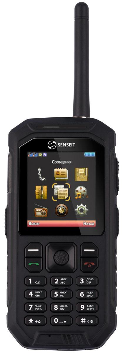 Senseit P300, BlackSENSEIT P300 чёрныйМобильный телефон Senseit P300 - предназначен для тех, кому важно оставаться на связи даже там, где недоступна мобильная сеть.Защита IP67 убережет телефон от пыли, грязи и влаги, а также сохранит при падениях и ударах.Мощная батарея 2500мАч обеспечит до 7 часов работы в режиме разговора и до 200 часов работы в режиме ожидания.Встроенная рация работает в диапазоне PMR446 и позволит общаться на расстоянии около 1 километра.Телефон сертифицирован EAC и имеет русифицированную клавиатуру, меню и Руководство пользователя.