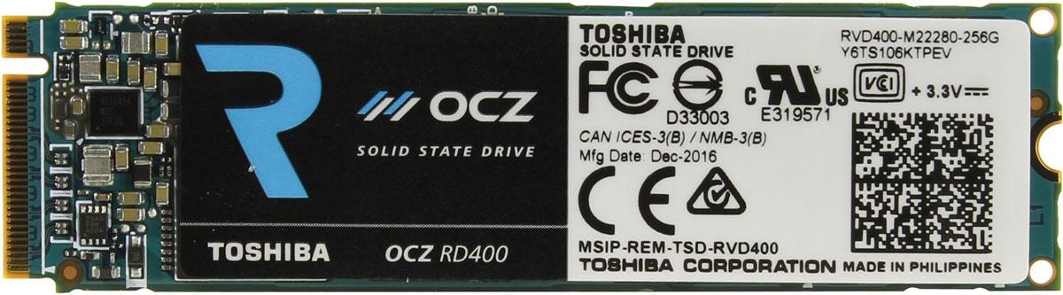 OCZ RD400 256GB SSD-накопитель (RVD400-M22280-256G)