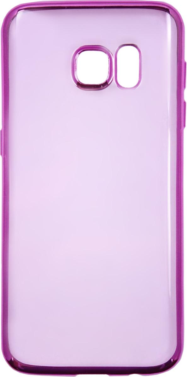 Red Line iBox Blaze чехол для Samsung Galaxy S7 Edge, PinkУТ000009623Практичный и тонкий силиконовый чехол Red Line iBox Blaze для Samsung Galaxy S7 Edge с эффектом металлических граней защищает телефон от царапин, ударов и других повреждений. Чехол изготовлен из высококачественного материала, плотно облегает смартфон и имеет все необходимые технологические отверстия, соответствующие модели телефона.Силиконовый чехолRed Line iBox Blaze долгое время сохраняет свою первоначальную форму и не растягивается на смартфоне.