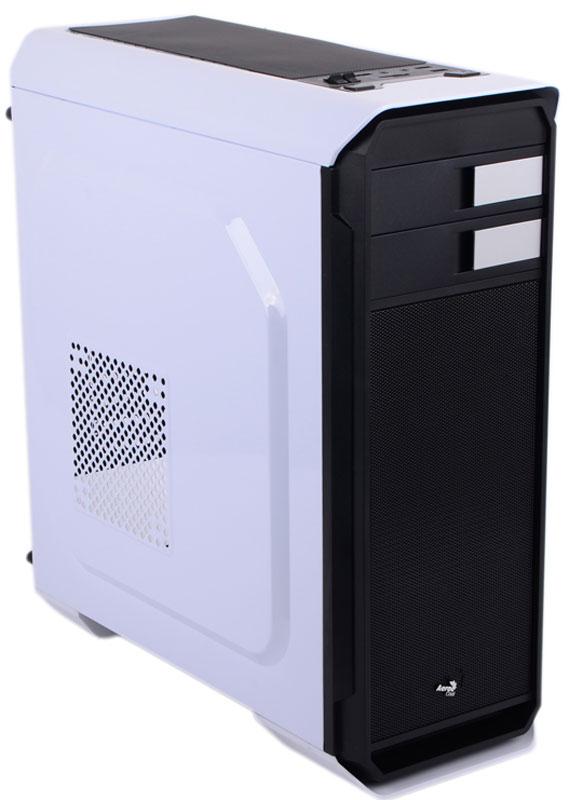 Aerocool Aero-500, White компьютерный корпус + картридер SD/micro SD4713105955767Компьютерный корпус Aerocool Aero-500 обладает эстетически привлекательным дизайном, лаконичными пропорциональными формами и логичной конструкцией. Относящийся к типу Middle Tower, корпус имеет эргономичную архитектуру. Основные кнопки управления, пуск, сброс, регулятор вентиляторов находятся на верхней панели. Здесь же расположены 3 порта USB, картридер SD/micro SD, разъёмы наушников и микрофона. На тыльной стороне короба установлен вентилятор охлаждения 120 мм диаметром. Если вы захотите поставить водяную систему охлаждения, то с ее установкой не возникнет проблем. С помощью крышки на верхней панели вы без труда сможете установить 240 мм устройство. Aerocool Aero-500 надежно защитит механизмы от частиц пыли благодаря специальным фильтрам, находящихся на блоке питания и в верхней панели. Они быстро снимаются и чистятся.
