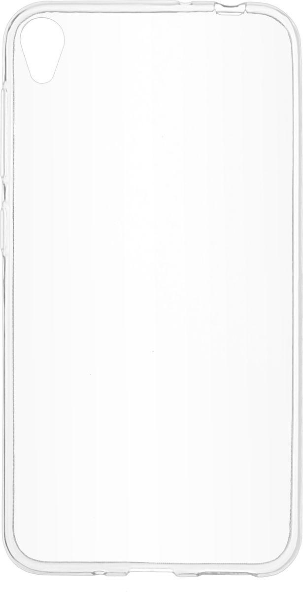 Skinbox Slim Silicone чехол-накладка для Asus Zenfone Live (ZB501KL), Transparent2000000148007Чехол надежно защищает ваш смартфон от внешних воздействий, грязи, пыли, брызг. Он также поможет при ударах и падениях, не позволив образоваться на корпусе царапинам и потертостям. Чехол обеспечивает свободный доступ ко всем функциональным кнопкам смартфона и камере.