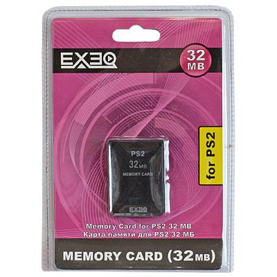 Карта памяти для PlayStation 2 EXEQ 32 Мб
