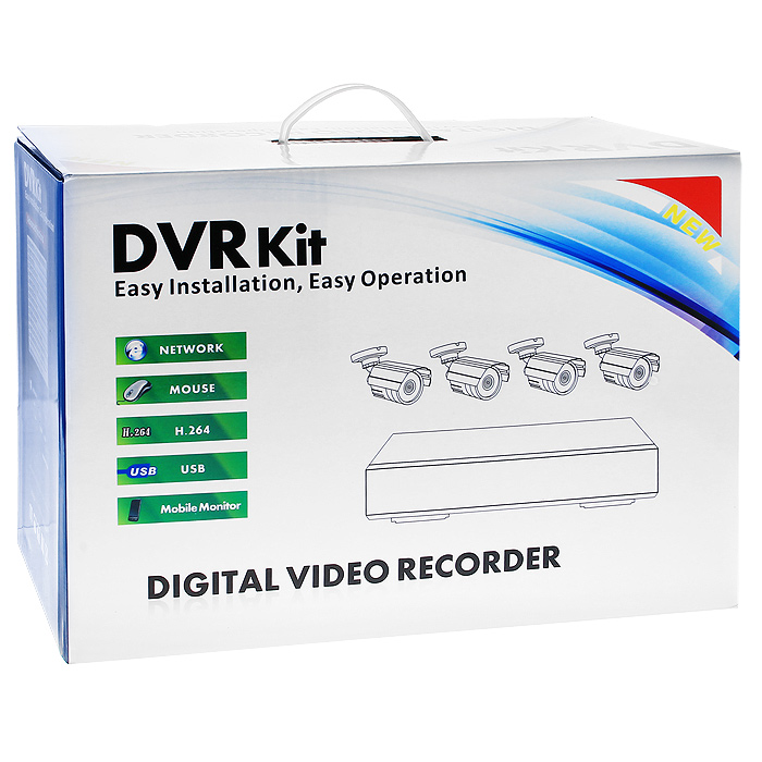 Video Control VC-4SD5Aкомплект видеонаблюдения Video Control