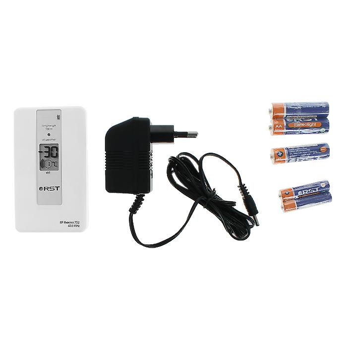 RST02888погодная станция с радиодатчиком Оснащена жидкокристаллическим дисплеем с интеллектуальной подсветкой...