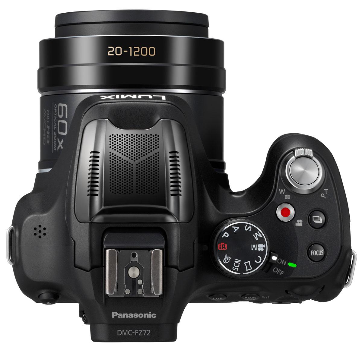 Panasonic Lumix DMC-FZ72 Blackцифровая фотокамера Фотоаппарат оснащен универсальным широкоугольным объективом Lumix...