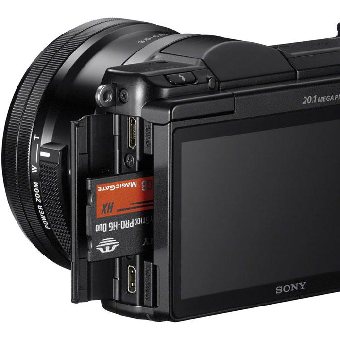 Sony Alpha A5000 Kit 16-50 mm, Blackцифровая фотокамера Sony