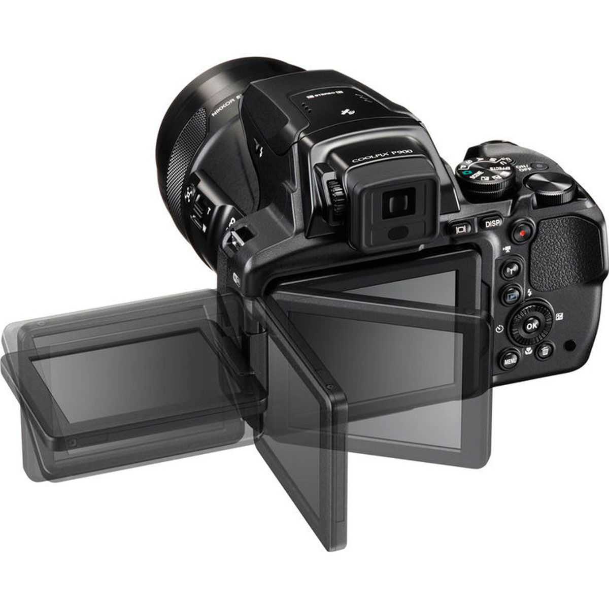 Nikon Coolpix P900, Blackцифровая фотокамера Nikon