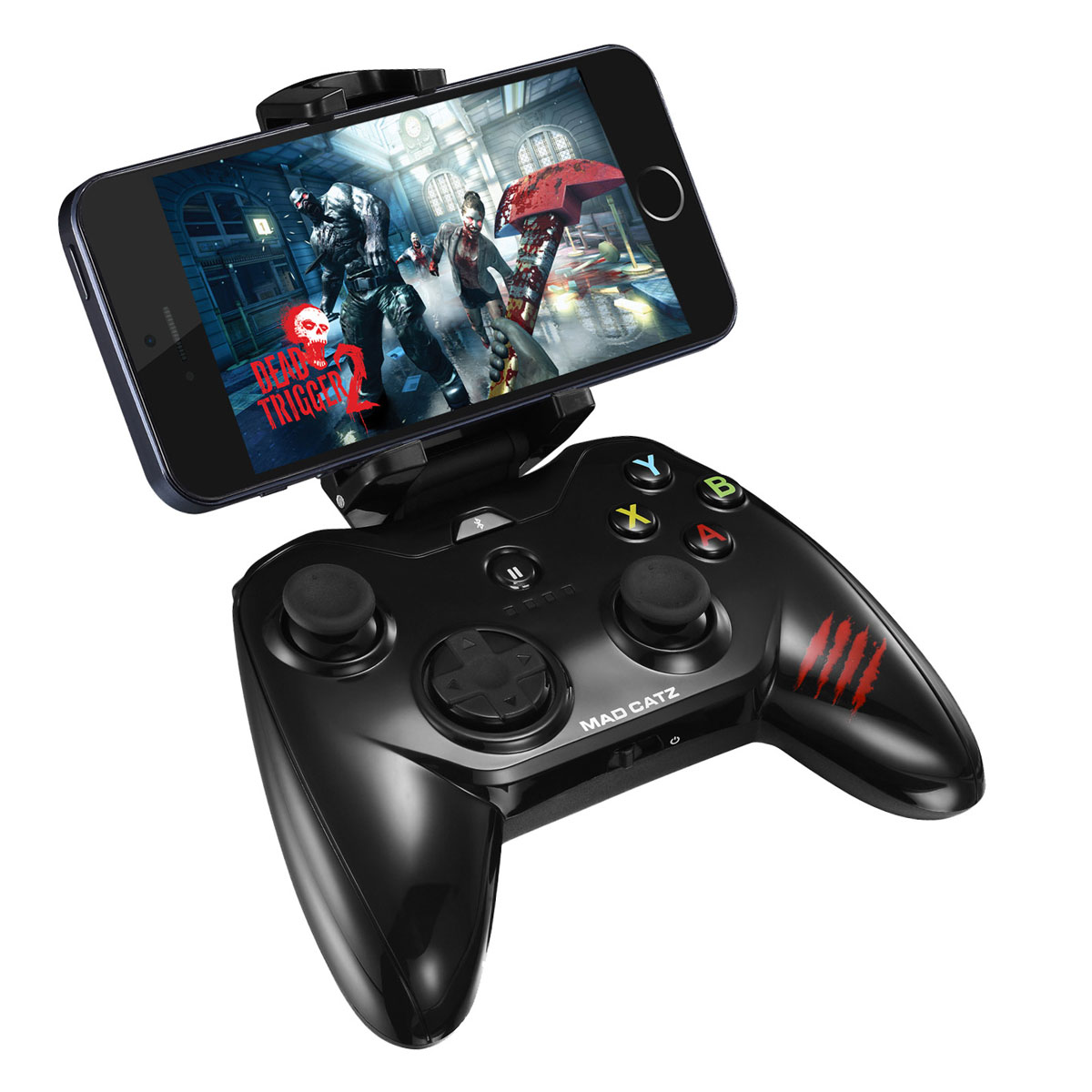 Mad Catz Micro C. T. R. L. i, Gloss Blackбеспроводной геймпад для iPhone и iPad Mad Catz