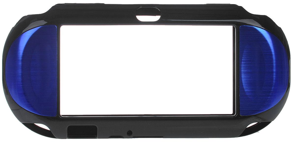 Защитный металлический чехол Black Horns для PS Vita (синий) Black Horns