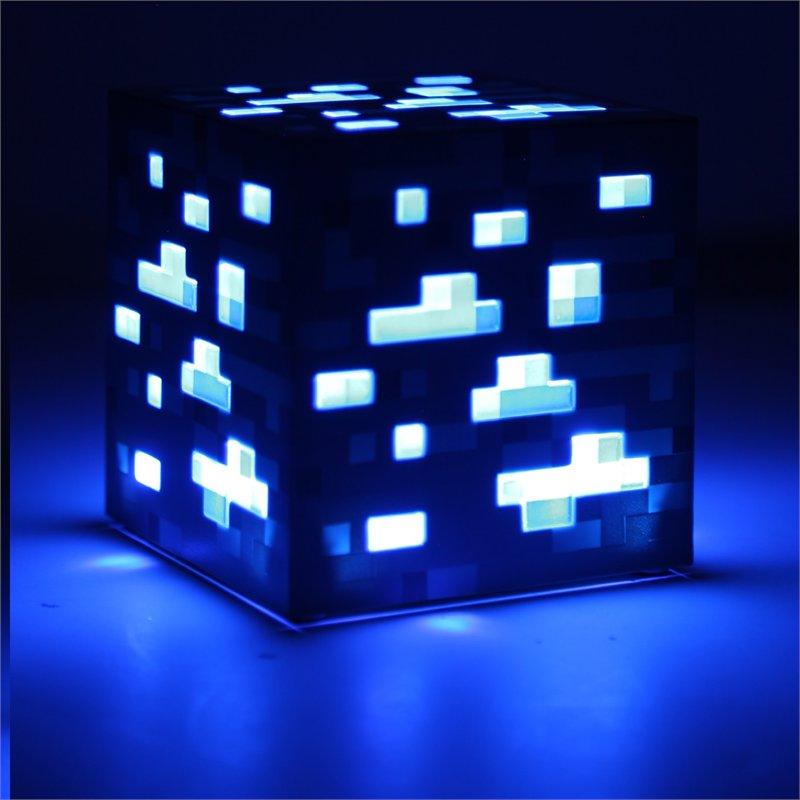 Лампа настольная Minecraft Diamond Ore (синяя) Minecraft