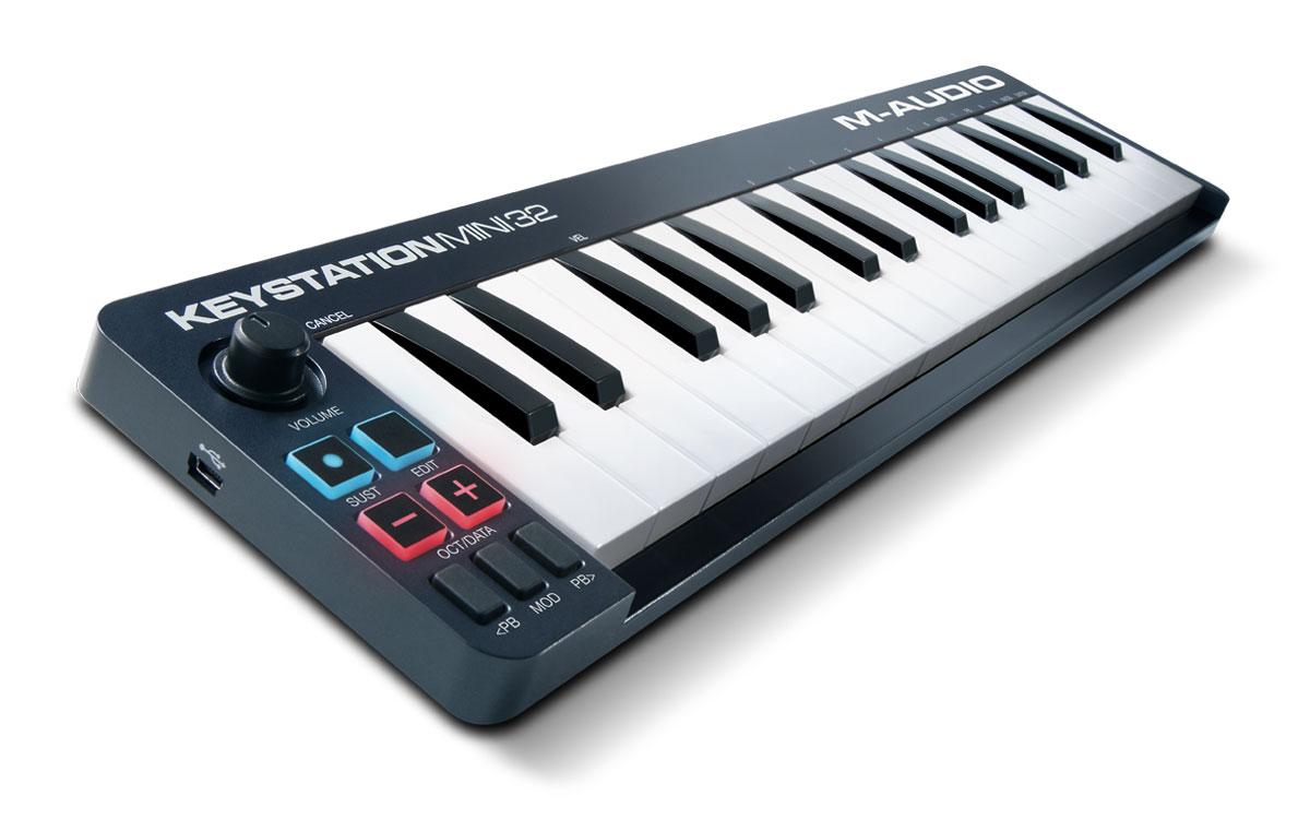 M-Audio Keystation Mini 32 II MIDI-клавиатура M-Audio