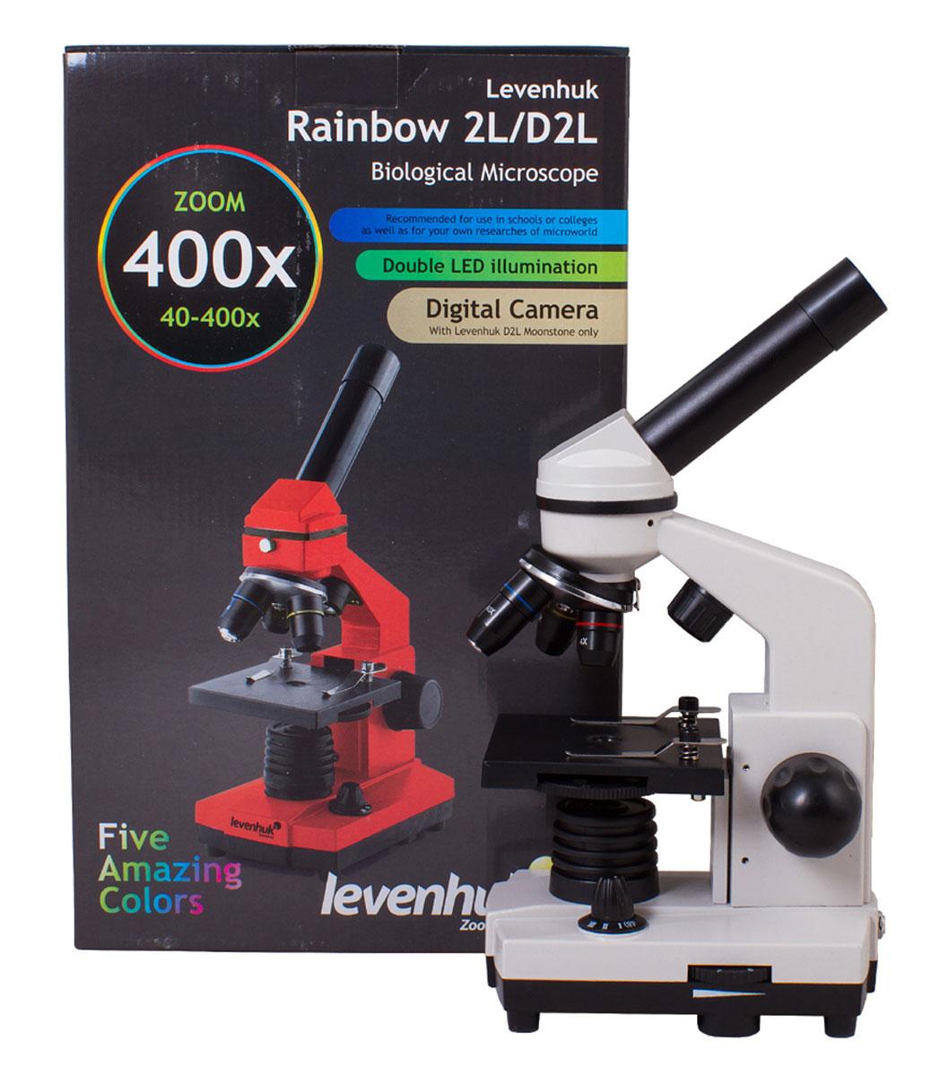 Levenhuk Rainbow 2L, Moonstoneмикроскоп Levenhuk