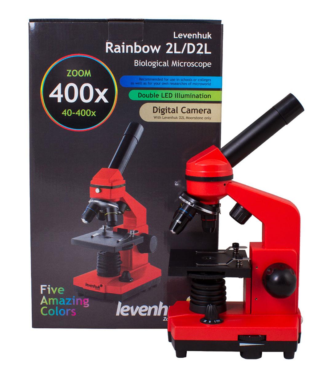 Levenhuk Rainbow 2L, Orangeмикроскоп Levenhuk