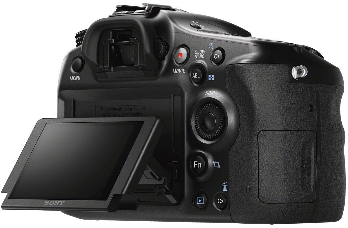 Sony Alpha A68 Kit 18-55 ILCA-68Kцифровая зеркальная фотокамера Sony