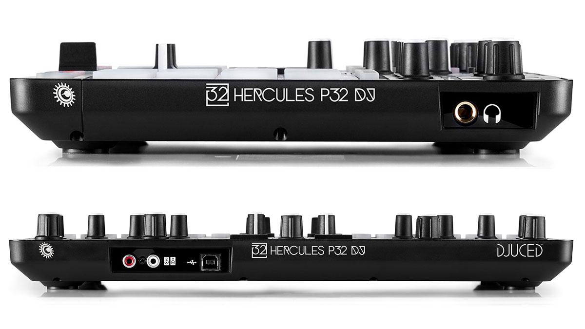 Hercules P32 DJмикшерный пульт Hercules