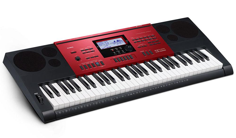 Casio CTK-6250, Red Blackцифровой синтезатор Casio