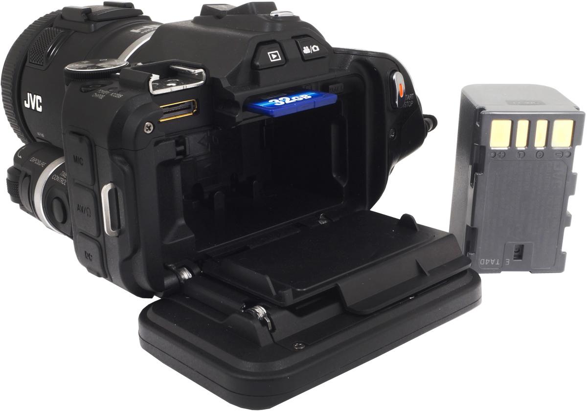 JVC GC-PX100, Blackцифровая видеокамера JVC