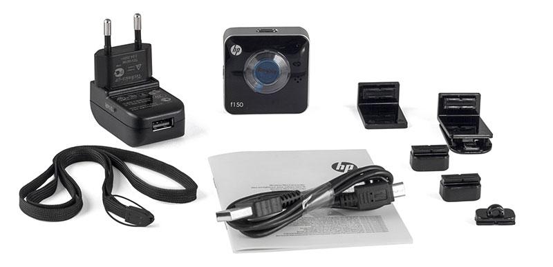 HP f150, Blackэкшн-камера HP