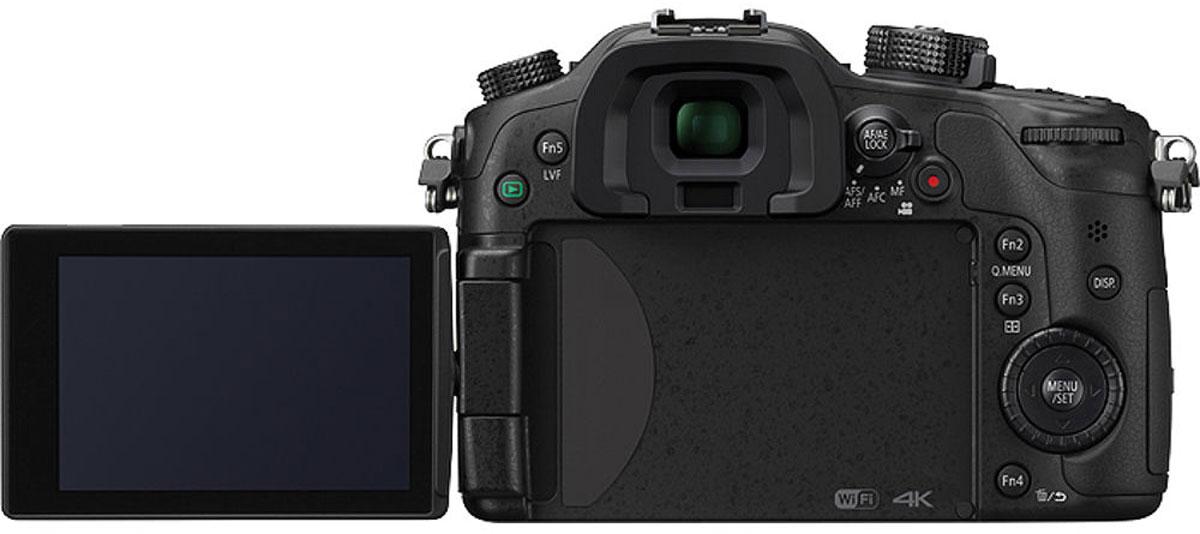 Panasonic Lumix DMC-GH4 Kit 14-140mm, Blackцифровая фотокамера Panasonic