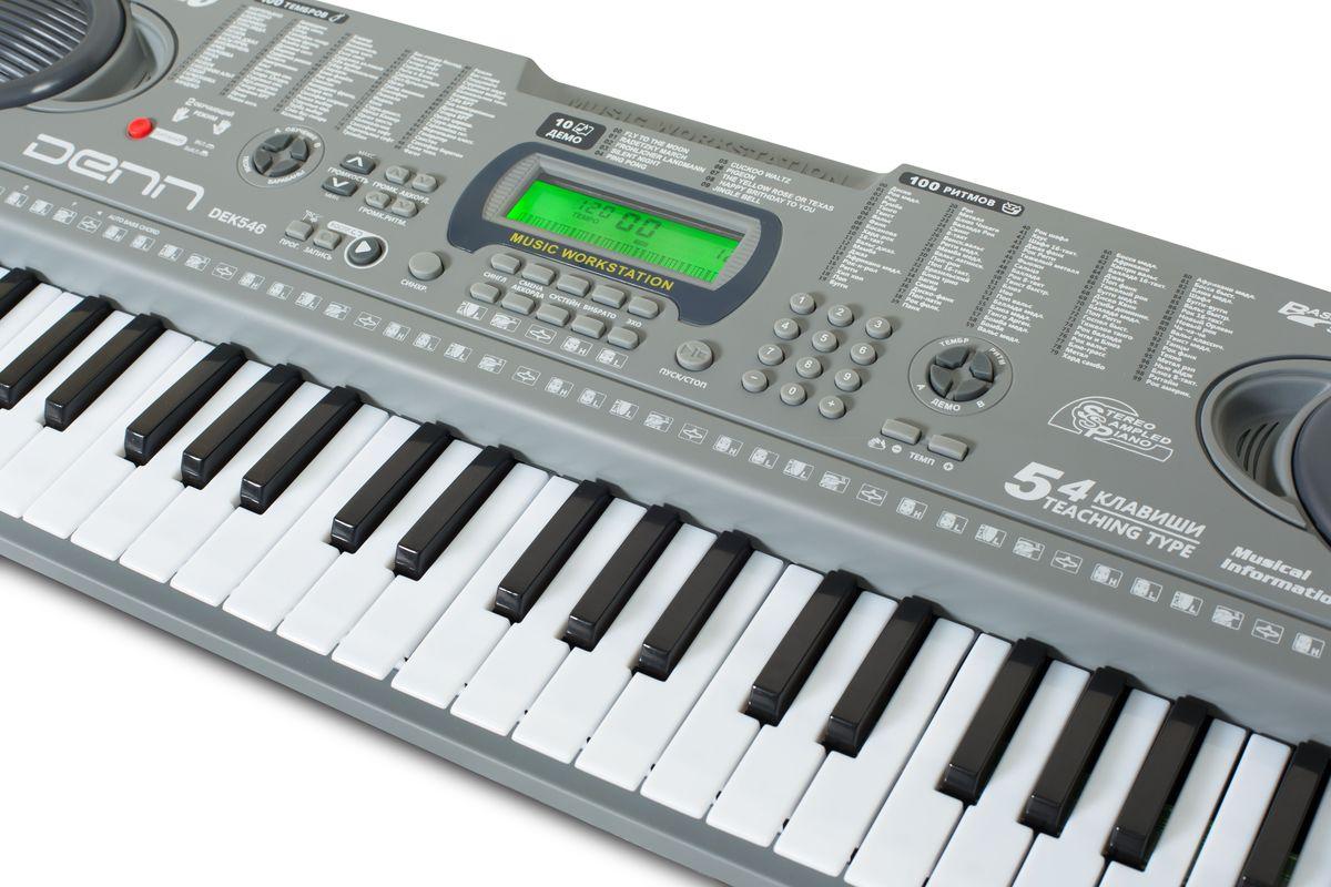 Denn DEK546цифровой синтезатор Denn