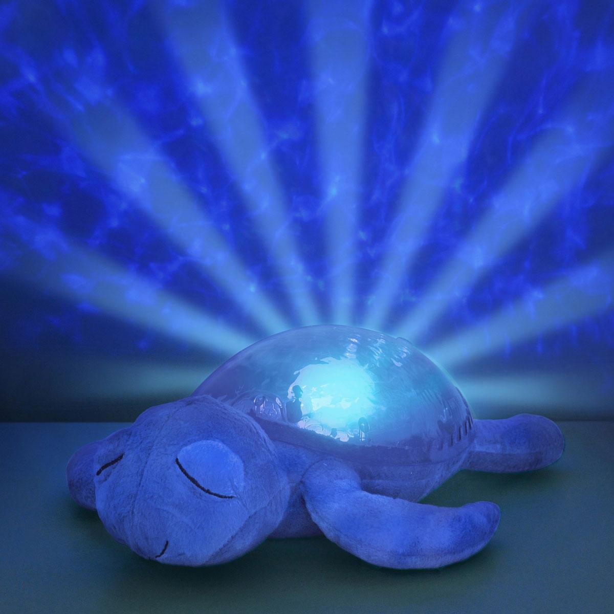 Cloud bНочник-проектор Морская черепашка цвет фиолетовый Cloud b