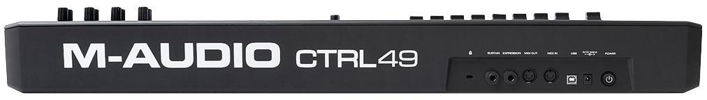 M-Audio CTRL49, Black MIDI-клавиатура M-Audio