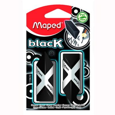 Стильный дизайнерский ластик черного цвета трехгранной формы, соответствующий естественному захвату руки. Легко и без следов удаляет с бумаги надписи, сделанные  карандашом любой твердости. Не содержит ПВХ. Характеристики: Размер ластика: 2 см x 4,5 см x 1,5 см. Изготовитель: Китай.
