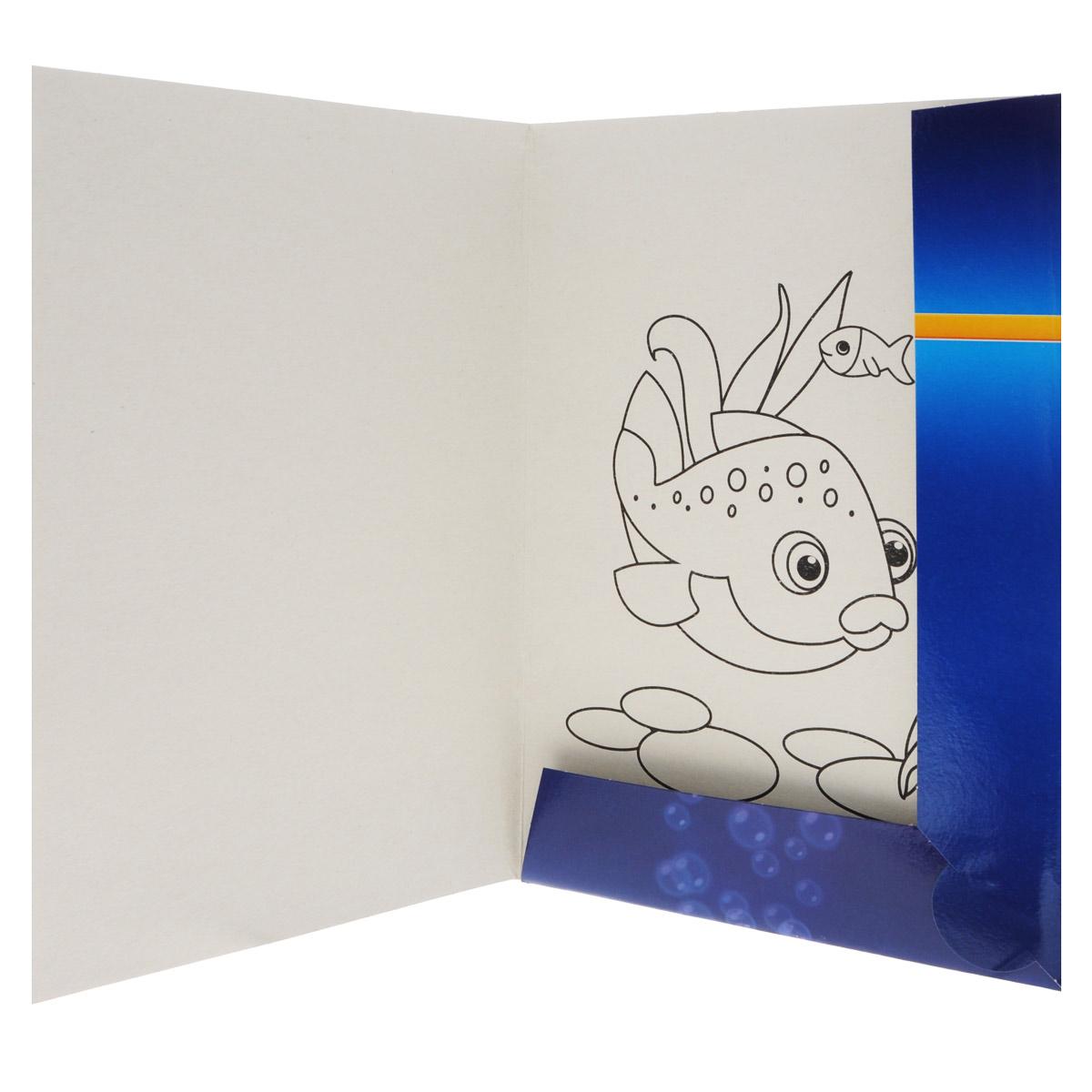 Двусторонний цветной картон Hatber Подводный мир позволит вашему ребенку создавать всевозможные аппликации и поделки. Набор состоит из десяти листов разноцветного картона с полуглянцевым покрытием формата А4. Картон упакован в оригинальную картонную папку, оформленную изображением необычайно красивого подводного мира.Создание поделок из картона поможет ребенку в развитии творческих способностей, кроме того, это увлекательный досуг.  Рекомендуемый возраст от 6 лет.