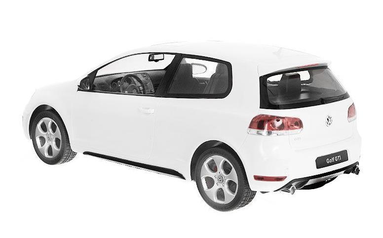 Все дети хотят иметь в наборе своих игрушек ослепительные, невероятные и крутые автомобили на радиоуправлении. Тем более если это автомобиль известной марки с проработкой всех деталей, удивляющий приятным качеством и видом. Одной из таких моделей является автомобиль на радиоуправлении Volkswagen Golf GTI. Это точная копия настоящего авто в масштабе 1:12.Авто обладает неповторимым провокационным стилем и спортивным характером. А серьезные габариты придают реалистичность в управлении. Автомобиль отличается потрясающей маневренностью, динамикой и покладистостью