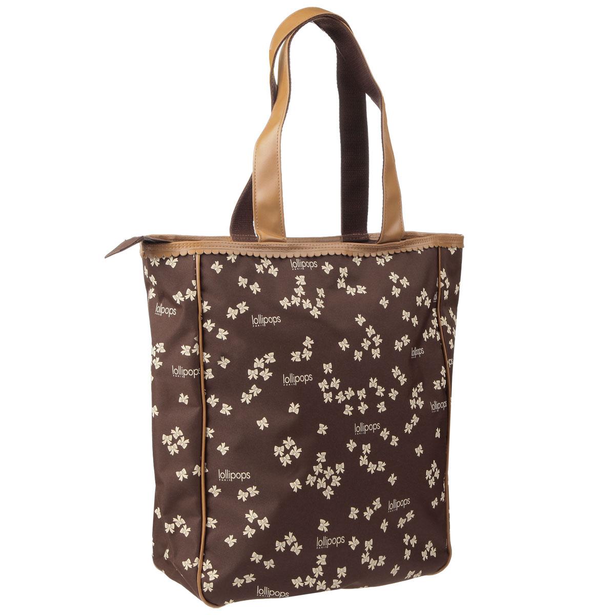 Элегантная женская сумка Lollipops изготовлена прочных современных материалов и оформлена узором из бантиков. Сумка имеет одно основное отделение, которое закрывается на застежку-молнию, и оснащена удобными ручками. Функциональная и вместительная, такая сумка поможет не только уместить все необходимые вещи, но и станет модным аксессуаром, который идеально дополнит ваш образ.