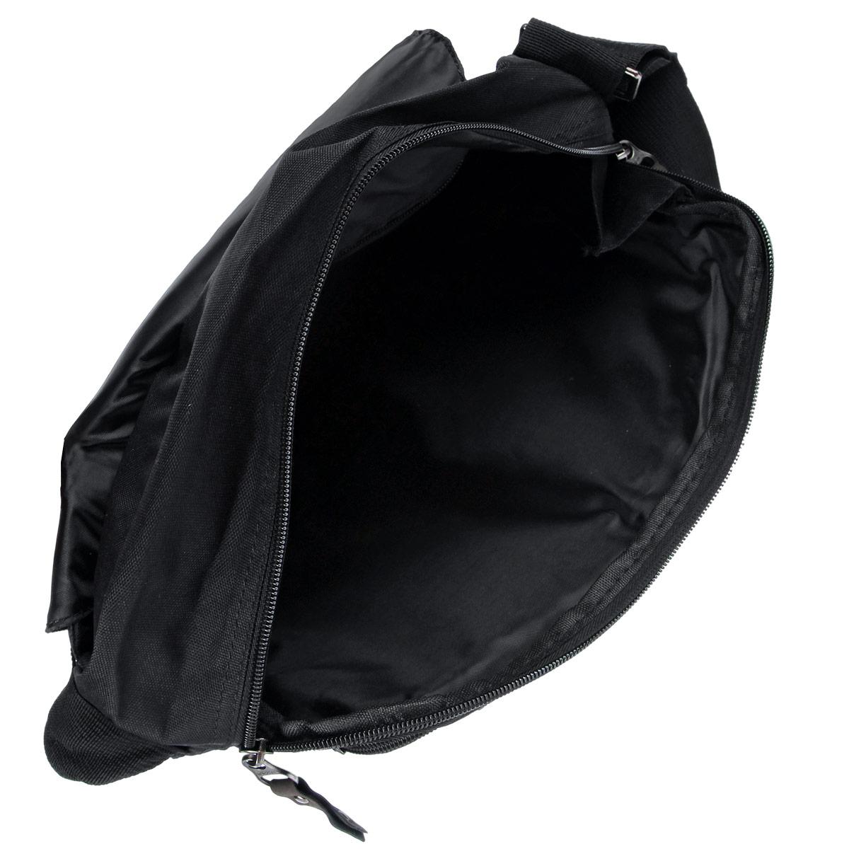 Молодежная сумка с одним отделением,застегивающимся на молнию и клапаном на магнитные кнопки.Сумка имеет множество карманов:на клапане,задней и передней стенках,внутри сумки,укрепленное дно,ручку для переноски и регулируемый наплечный ремень.