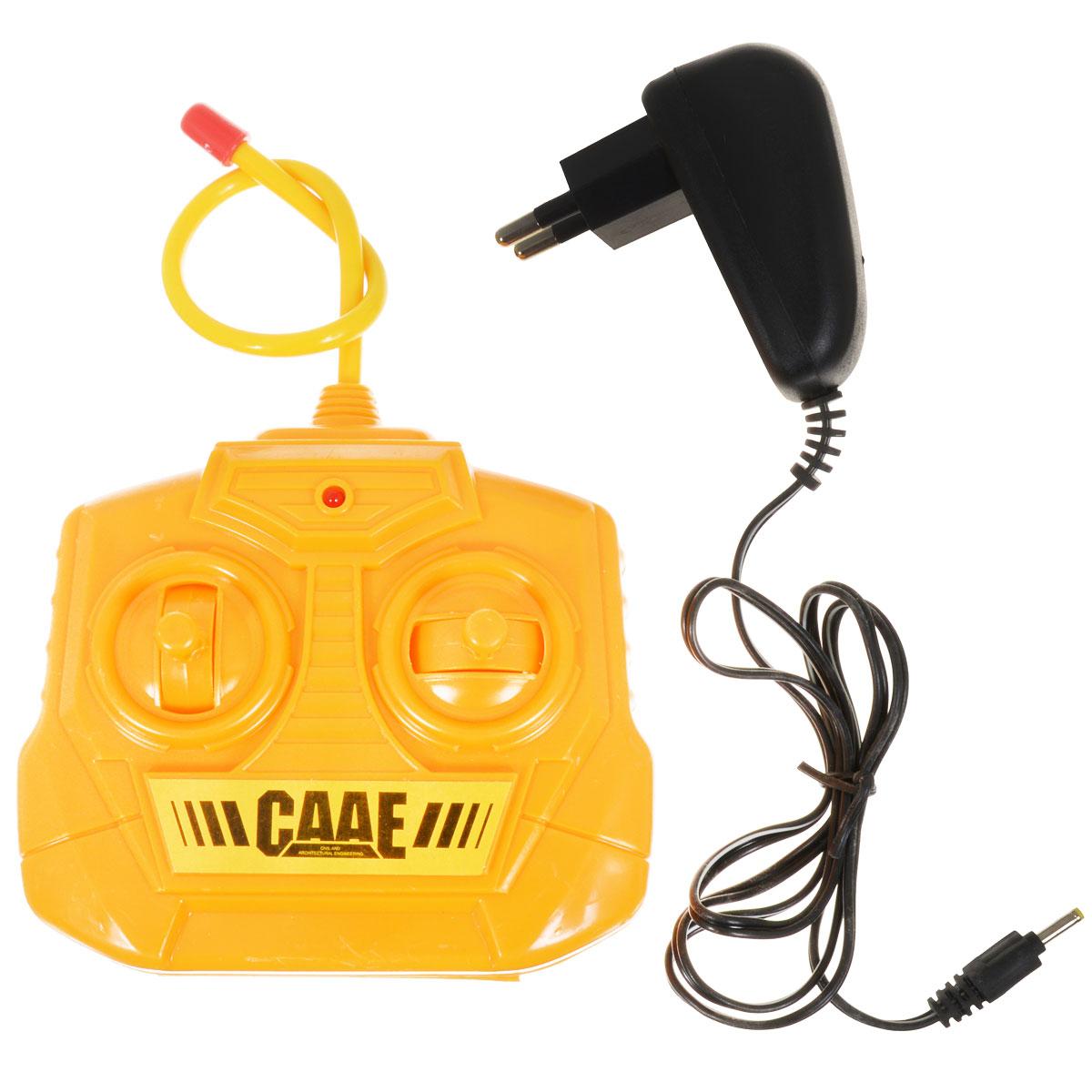 Радиоуправляемая машинка RCM-7104 Бульдозер м.1:36 – это уменьшенная копия строительной техники, с которой вашему сынишке будет интересно играть каждый день. Разработчики встроили в модель все основные функции бульдозера. Он может ездить вперед, назад, влево и вправо, а также поднимать и опускать ковш с грузом, рыть и копать. Данная радиоуправляемая машинка может послужить наглядным пособием и познакомить будущего строителя со строением и возможностями бульдозера.