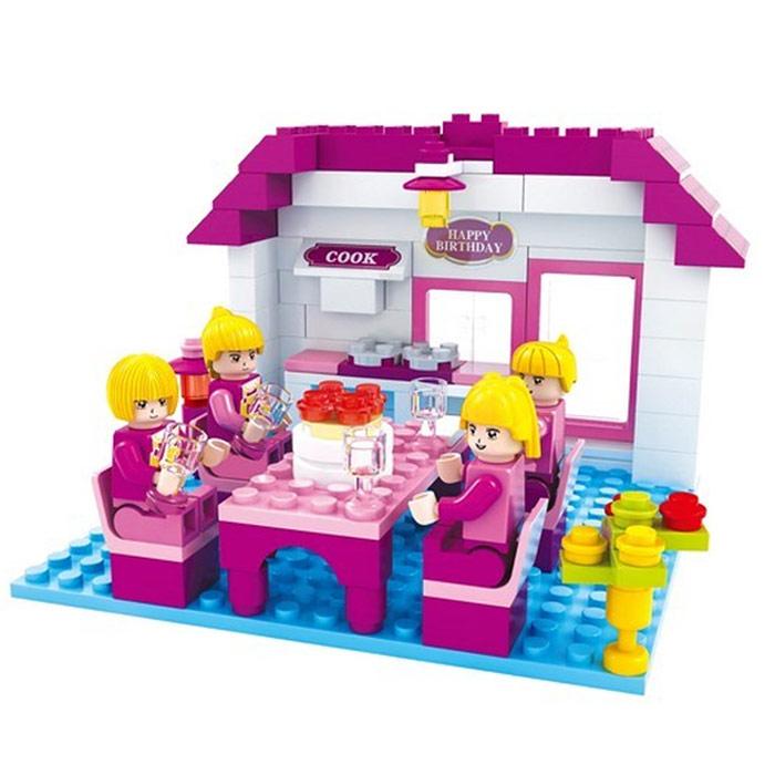 Картинки лего для девочек розовая