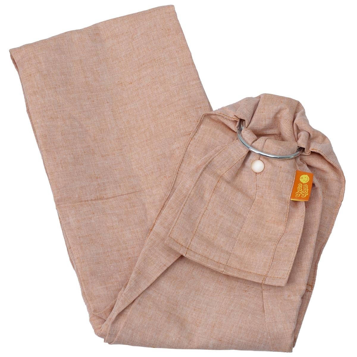 Чудо-Чадо Слинг с кольцами Ноктюрн цвет медный Размер S (до 46) Чудо-Чадо