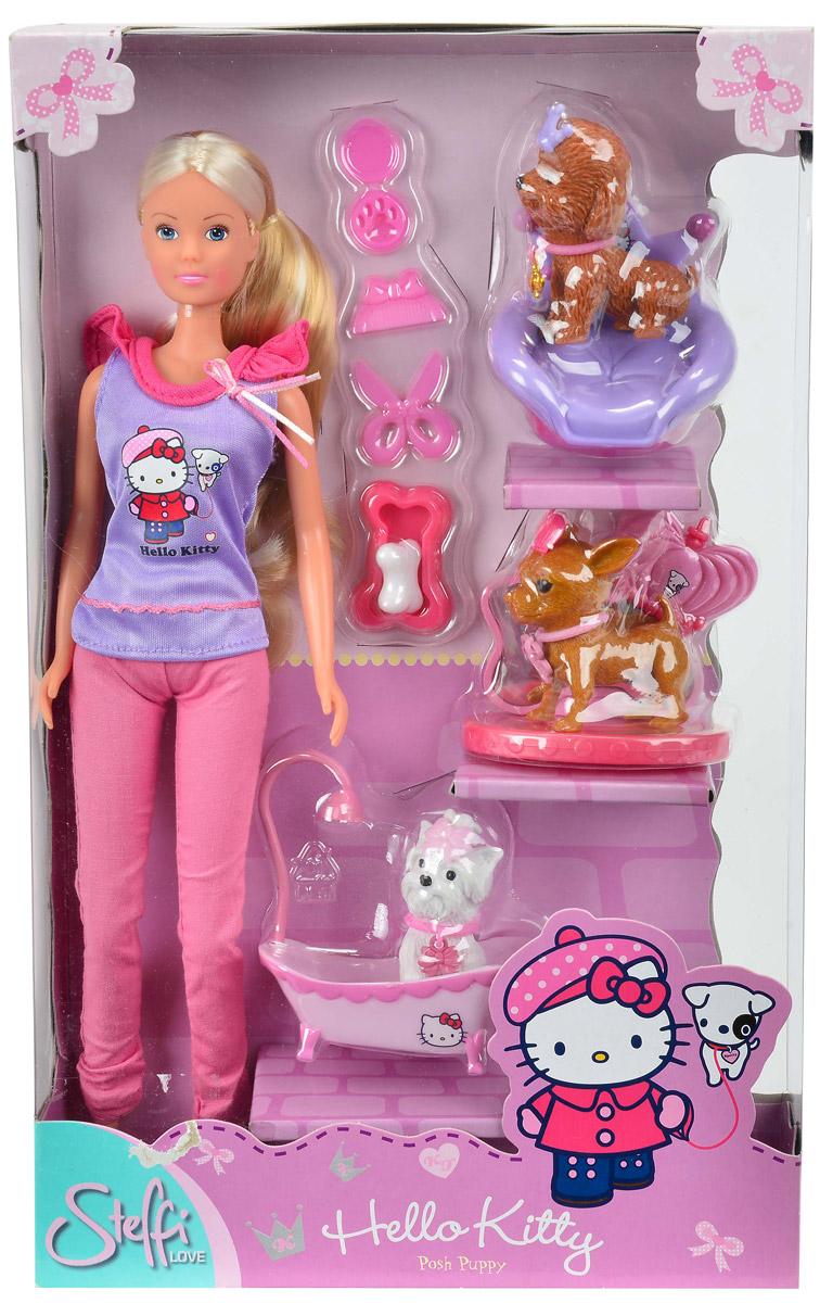 SimbaИгровой набор Штеффи с собачками Hello Kitty Simba