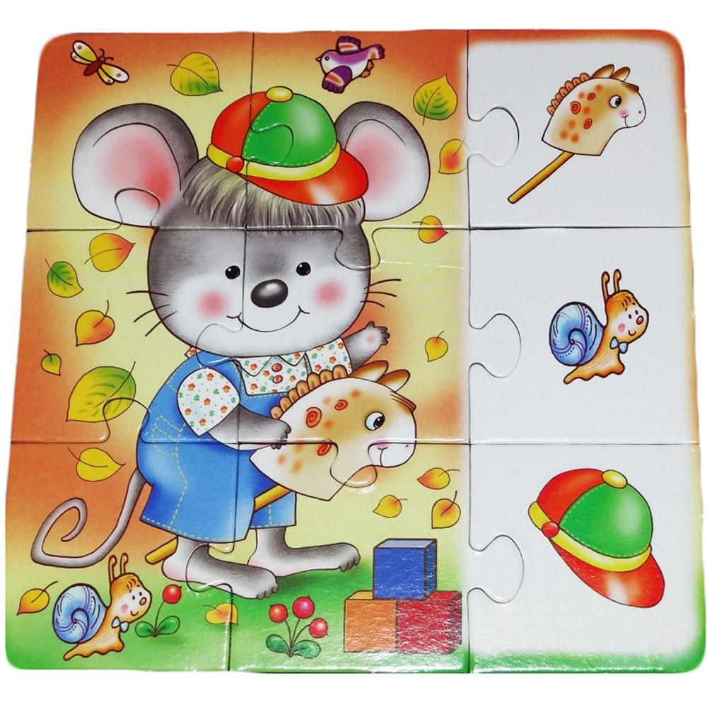 Детские пазлы с картинками играть