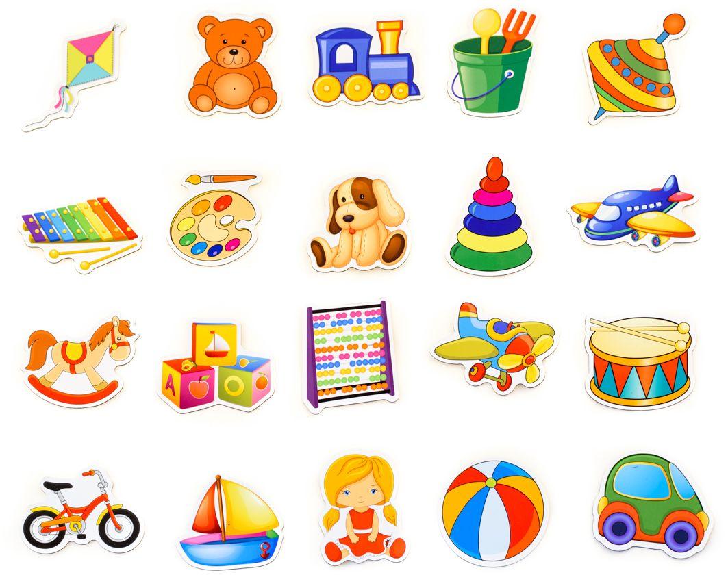 Векторные картинки для детей в магазине игрушек, марта