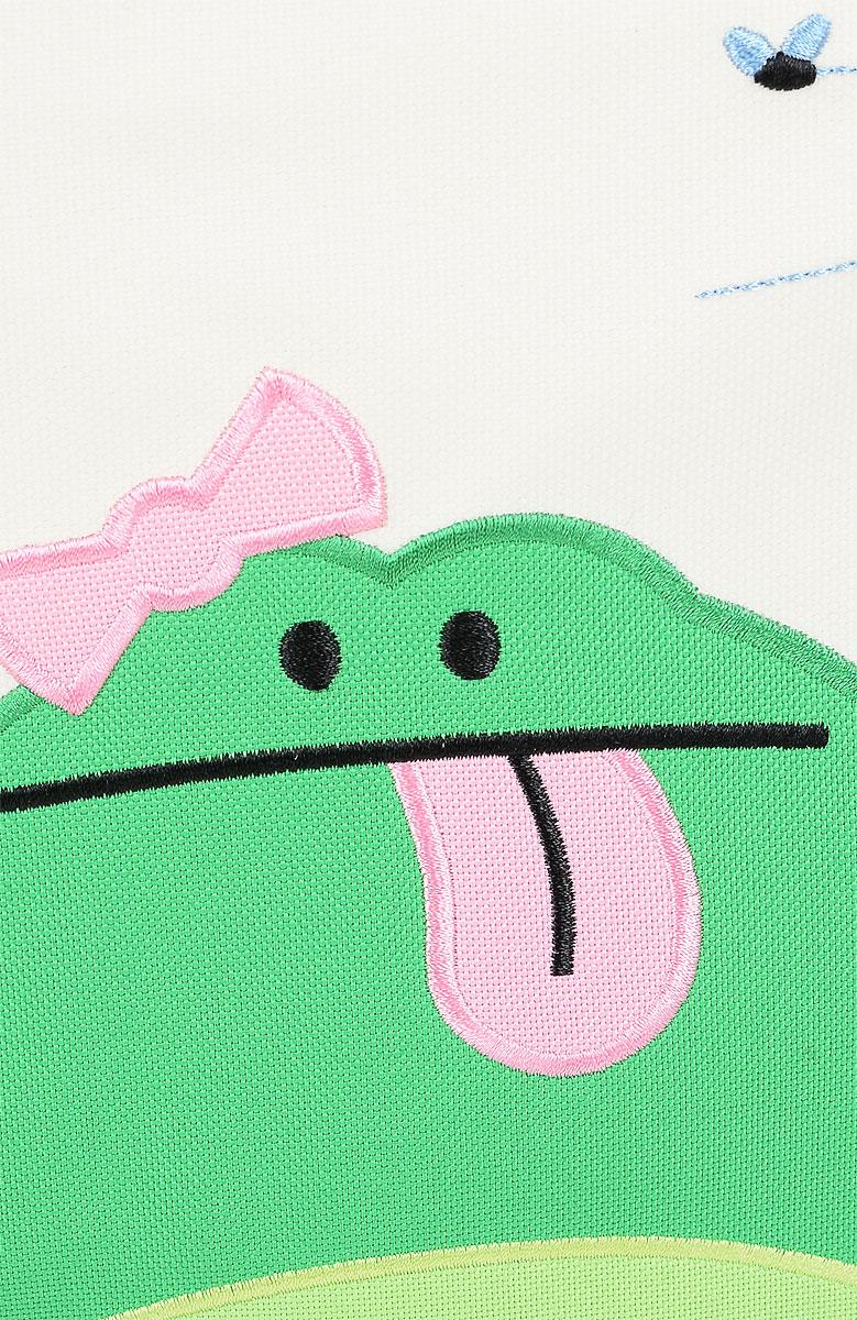 Рюкзак Beatrix Katarina-Frog изготовлен из износоустойчивого нейлона ярких расцветок.Рюкзак оформлен вышитой аппликацией с изображением забавного животного. Рюкзак состоит из вместительного отделения, закрывающегося на застежку-молнию с двумя бегунками. Бегунки застежки дополнены металлическими держателями. На лицевой стороне рюкзака один большой накладной карманом на молнии. Внутри отделения находится дополнительный кармашек на застежке-молнии. На задней стенке рюкзака имеется нашивка, на которой можно указать данные владельца. По бокам рюкзака имеются два накладных кармашка, закрывающихся на клапан с липучкой. Мягкие широкие лямки позволяют легко и быстро отрегулировать рюкзак в соответствии с ростом. Спинка рюкзака и лямки прошиты для дополнительного комфорта при эксплуатации. Рюкзак оснащен удобной текстильной ручкой для переноски в руке.   Достаточно вместительный для того, чтобы в них поместились учебники, ноутбук, школьный завтрак и остальной арсенал школьника. Идеально подходит как для школы, так для повседневных прогулок, отдыха и спорта.