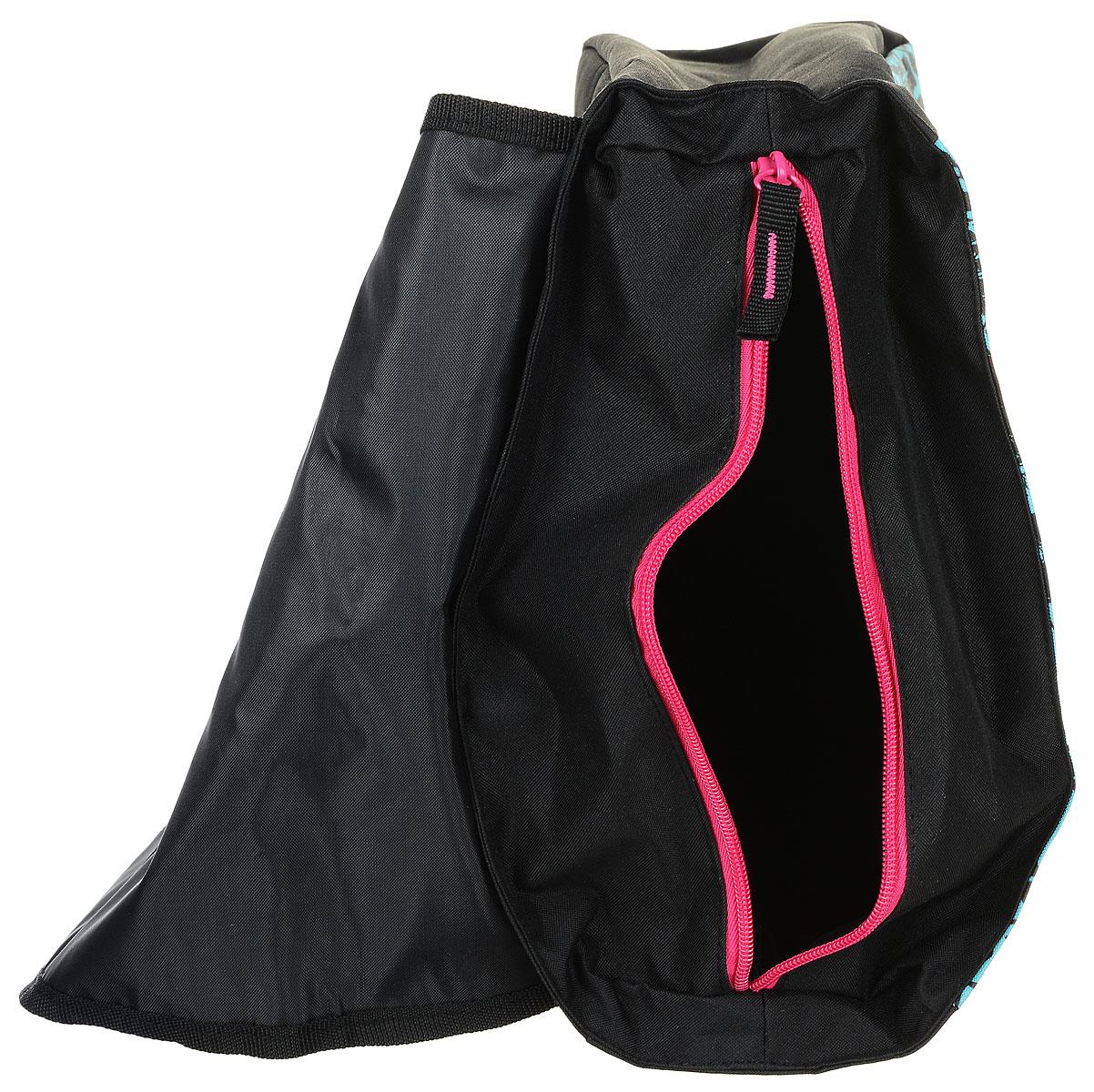 Этот рюкзак изготовлен из износостойкой легкомоющейся ткани. Сверху рюкзак застегивается на застежку молния, а затем закрывается клапаном на двух магнитных застежках. Внутри рюкзака имеется два маленьких кармашка, а также еще один карман на молнии.Плечевые лямки рюкзака Monster High Pink регулируются по длине. Кроме того у рюкзака имеется дополнительная ручка для ношения его в руке.  Если Вы ищите подарок девочке, можете быть уверенными, рюкзак Monster High Night непременно придется ей по вкусу!