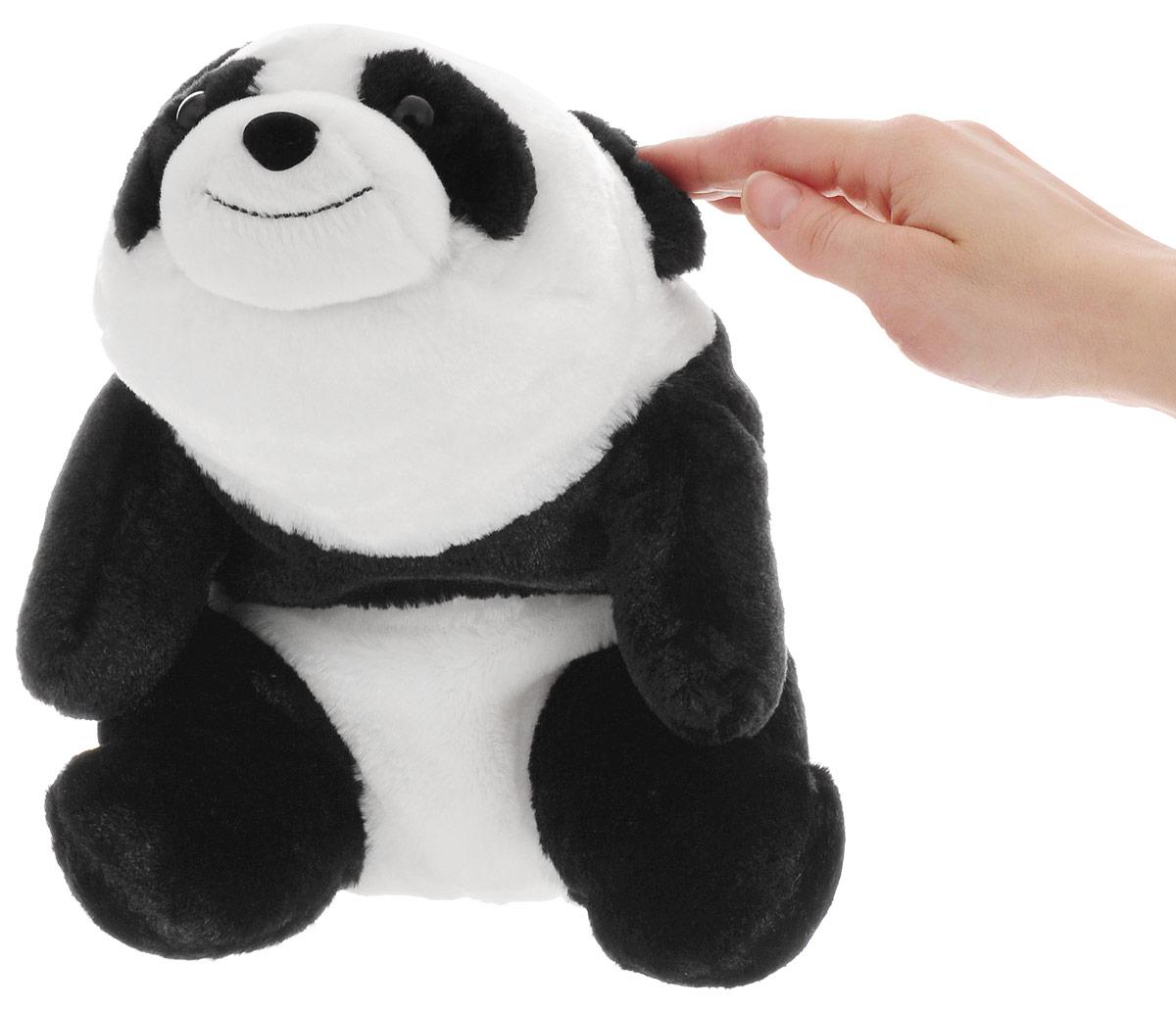 """Игрушка мягкая Gund """"Snuffles Panda"""", цвет: черный, белый, 26 см - 3"""